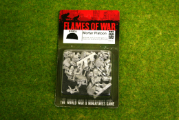 Flames of War British Airborne Mortar Platoon 15mm BR805