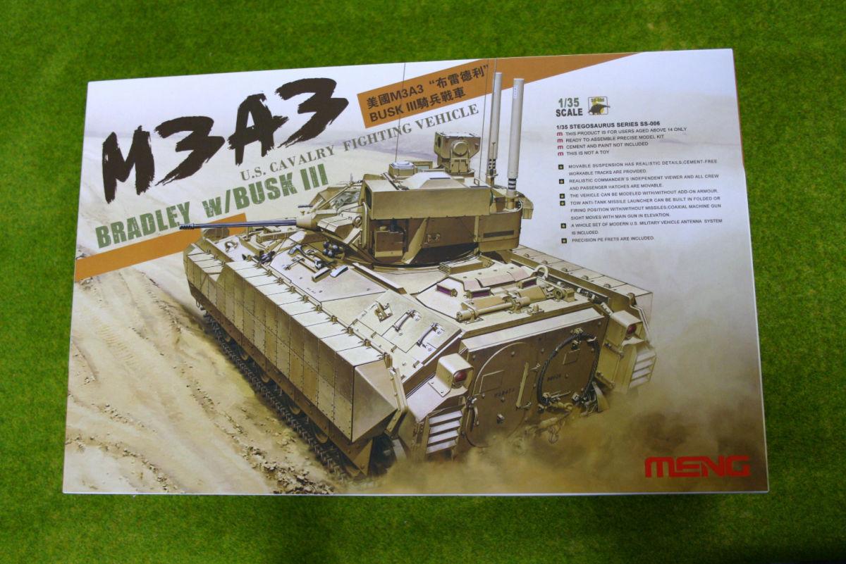 M3A3 BRADLEY w/BUSK 111 1/35 Meng Models SS006