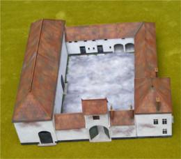 PAPELOTTE FARM HOUSE WATERLOO – 1815 28mm Laser cut MDF Building H005
