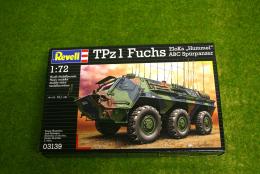 TPz1 Fuchs Eloka Hummel 1/72 Scale Revell Military Kit 3139