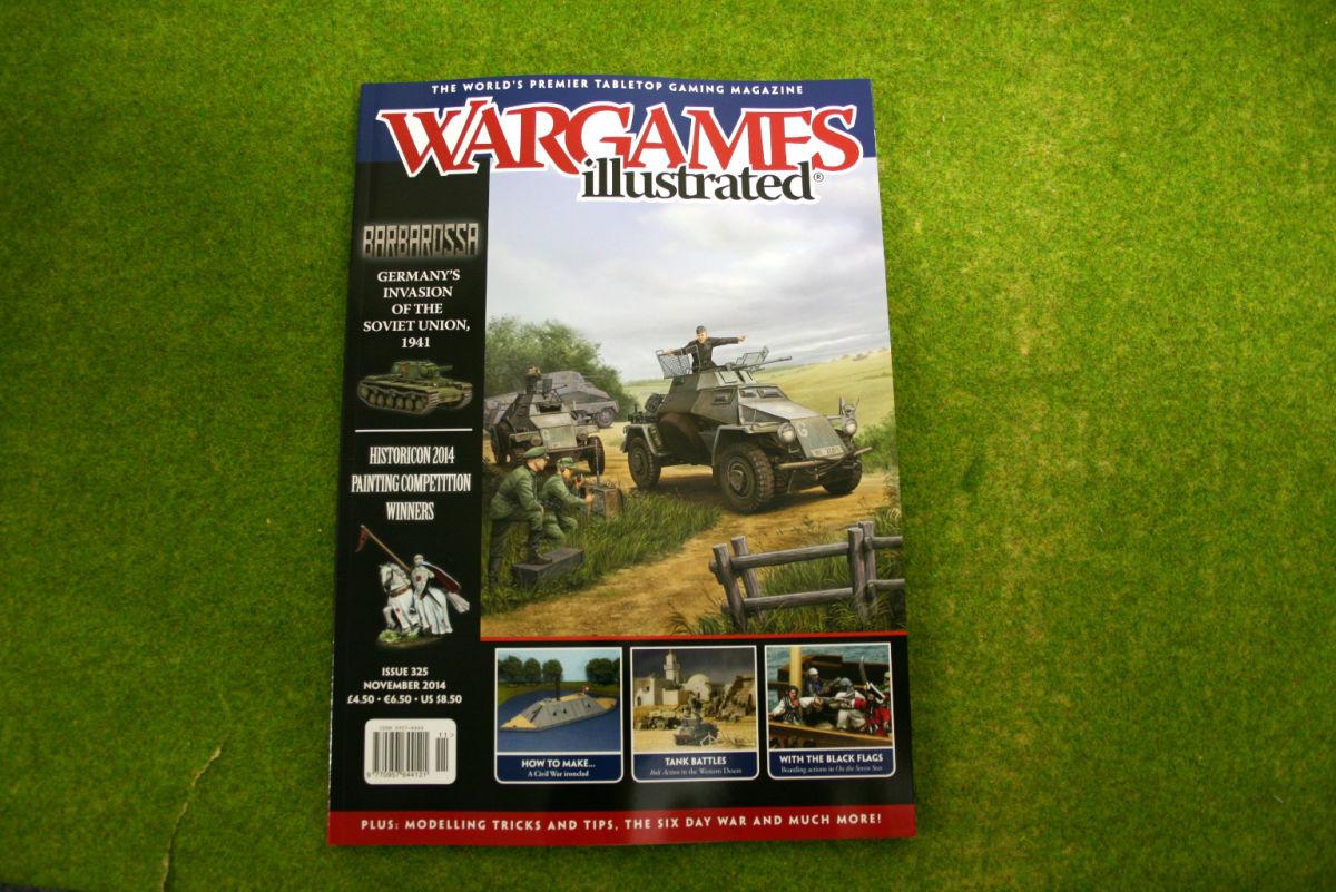 WARGAMES ILLUSTRATED ISSUE 325 November 2014 MAGAZINE