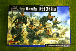 CHOSEN MEN – British 95th Rifles Warlord Games Black Powder Napoleonic 28mm