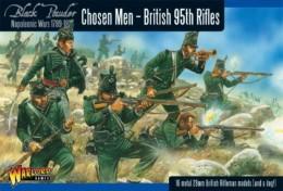 British – CHOSEN MEN – British 95th Rifles Warlord Games Napoleonic 28mm