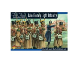 LATE FRENCH LIGHT INFANTRY Warlord Games Black Powder Napoleonic 28mm SD