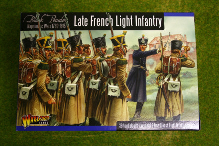 LATE FRENCH LIGHT INFANTRY Warlord Games Black Powder Napoleonic 28mm