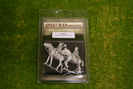 GREAT WAR MINIATURES British Cavalry with Swords 1914 Early War B114 28mm
