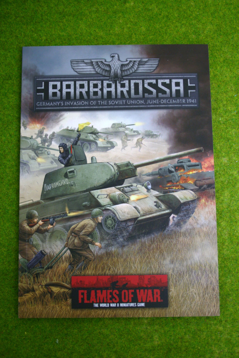BARBAROSSA Flames of war Supplement Germany's Invasion Of Russia