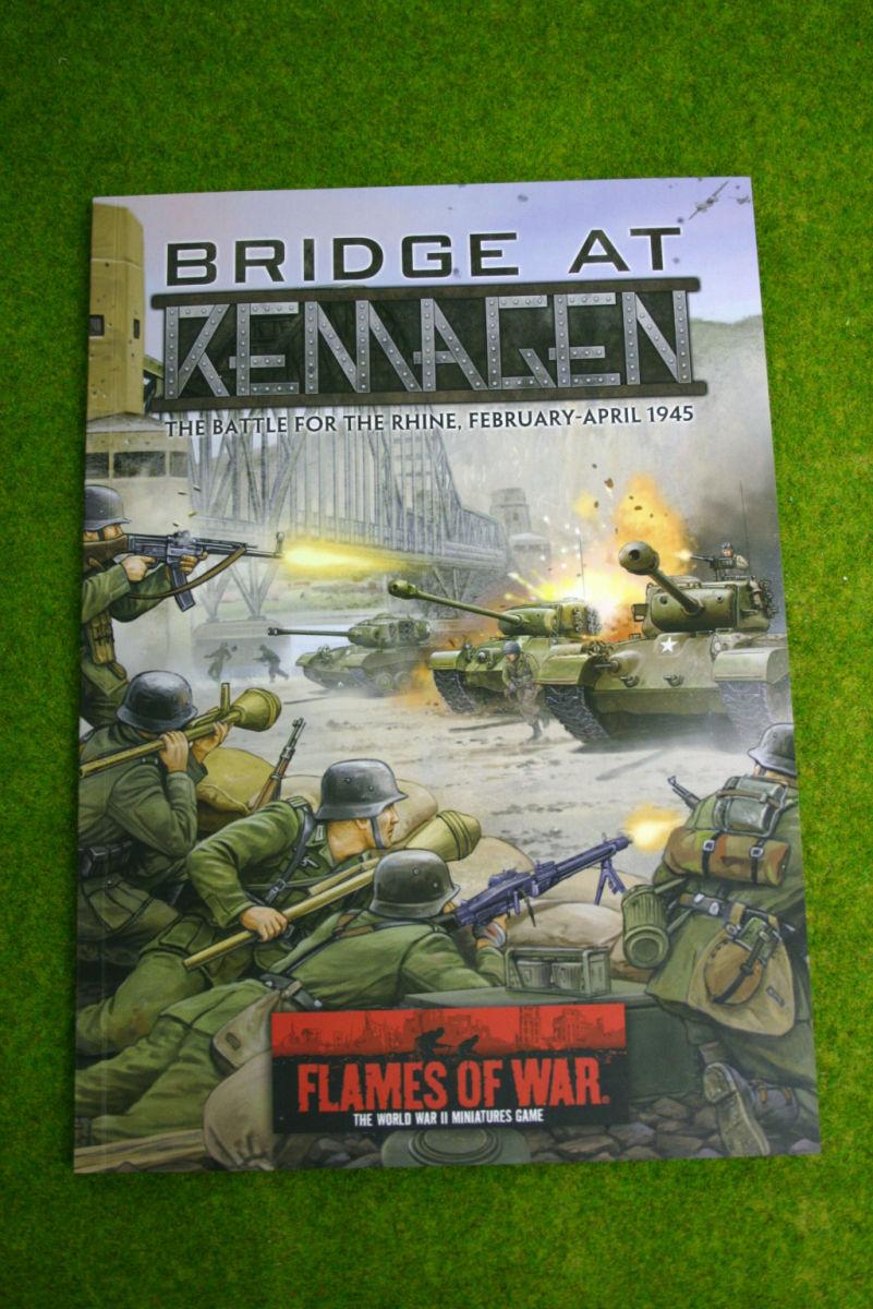 BRIDGE AT REMAGEN Flames of war Supplement Battle for the Rhine