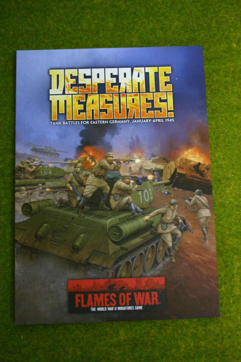 DESPERATE MEASURES Flames of war Supplement Tank Battles for Eastern Germany 1945