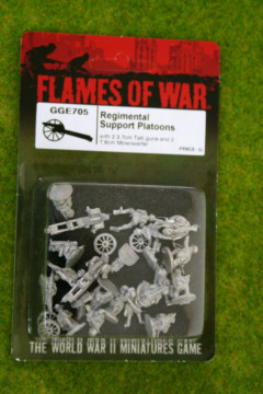 Flames of War German Regimental Support Platoons 15mm GGE705