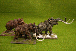 DeeZee Miniatures MAMMOTH HERD! 28mm Wargames