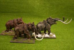 DeeZee Miniatures MAMMOTH HERD! 28mm Wargames
