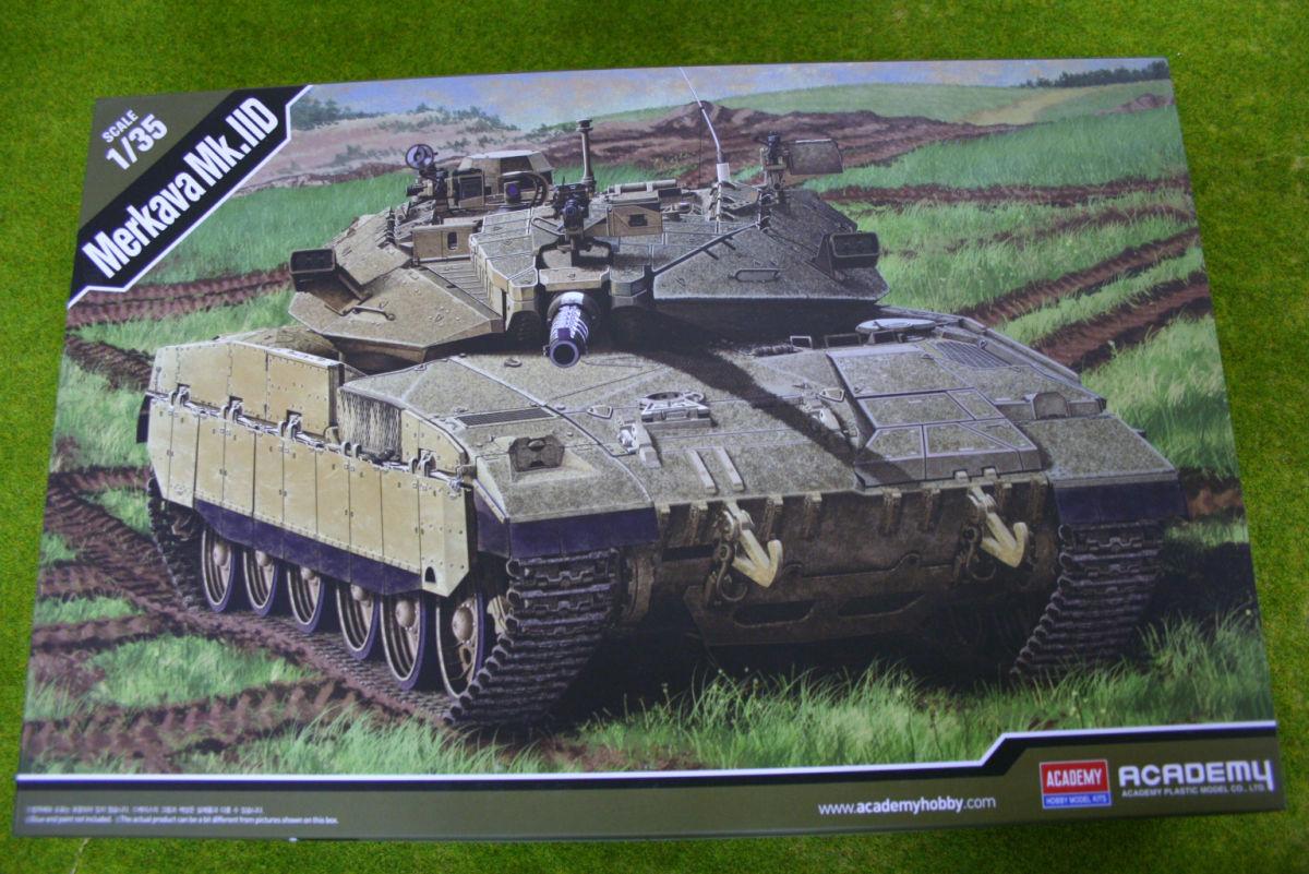 MERKAVA Mk.IID Israeli MBT Academy 1/35 kit 13286