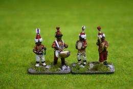 Trent Miniatures BLACK MUSICIANS MUS01