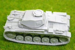 1/56 scale – 28mm WW2 GERMAN PANZER II Ausf F resin tank Blitzkrieg miniatures