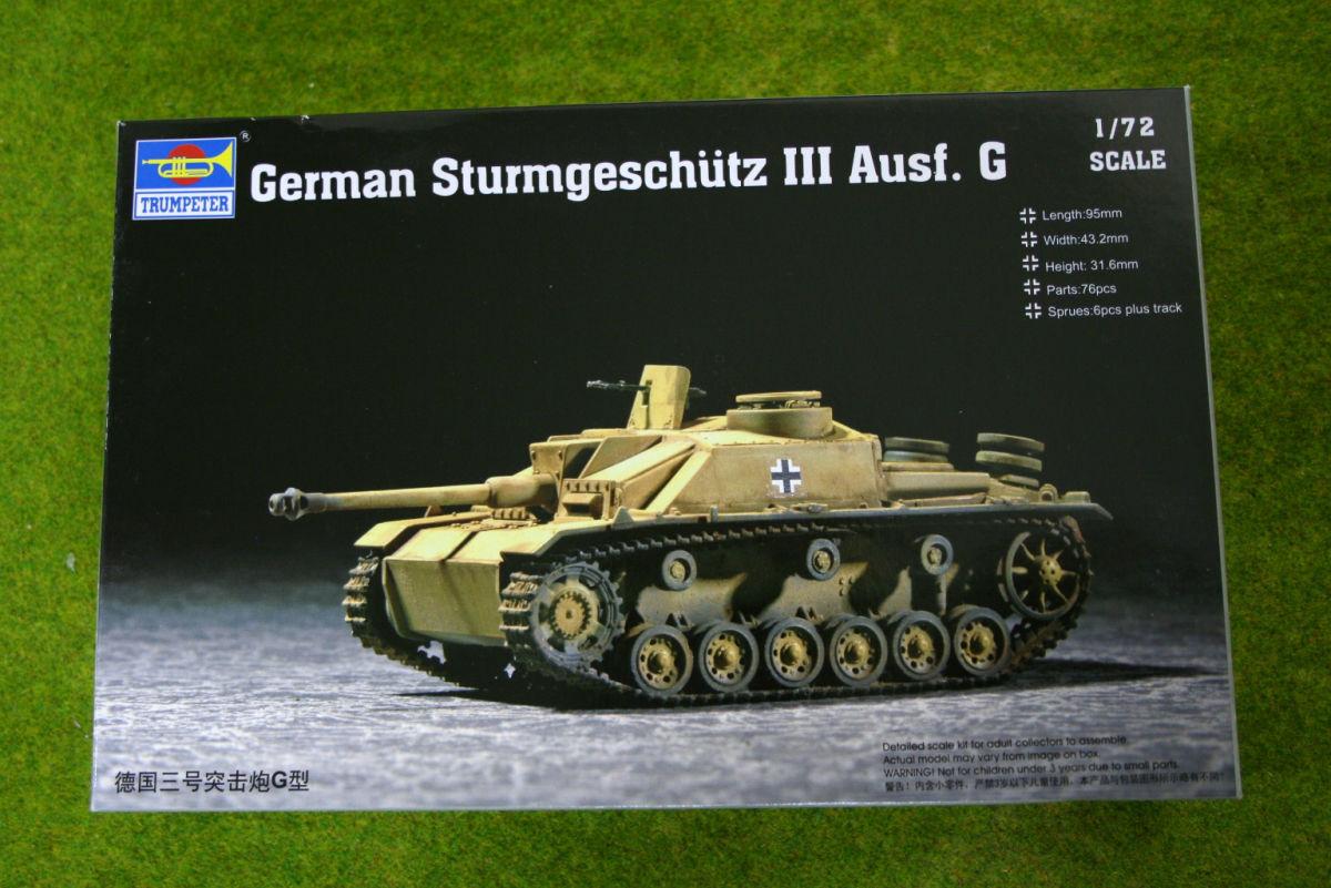 Trumpeter STURMGESCHUTZ III Ausf G 1/72 scale 7260