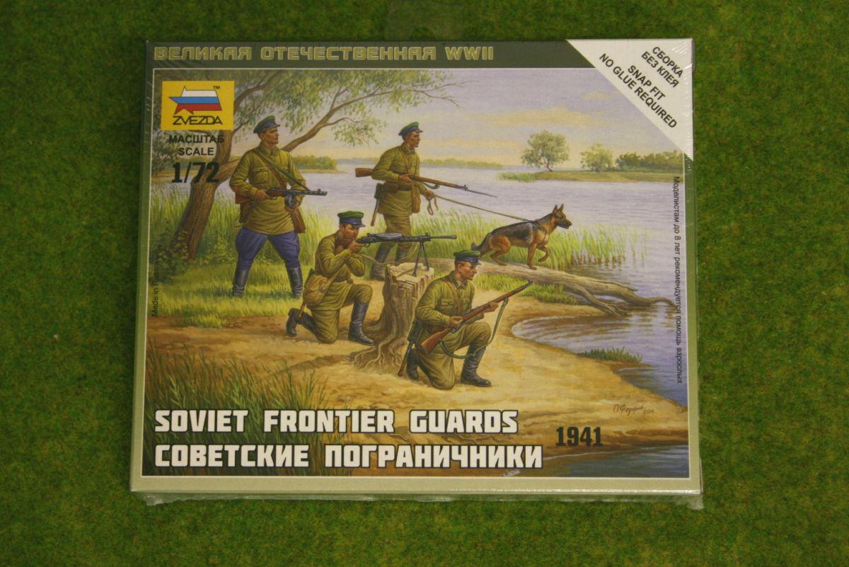 Zvezda WW2 SOVIET FRONTIER GUARDS 1941 1/72 6144
