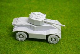 1/56 scale – 28mm WW2 AEC Armoured Car MK 3 28mm Blitzkrieg miniatures