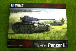 Rubicon Models German Panzer III Mid War 1/56 28mm RU002