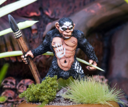 Lucid Eye SIMIAN ALPHA BOSS THINKING BROW Savage Core SIMB – 28mm