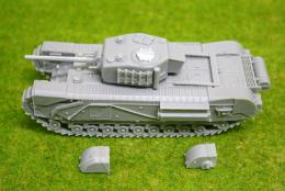1/56 scale – 28mm WW2 CHURCHILL NA75 28mm Blitzkrieg miniatures