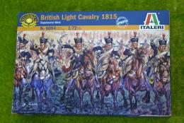 British Light Cavalry 1815 1/72 Italeri Napoleonic 6094