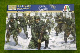 Italeri AMERICAN U.S. INFANTRY (Winter Uniform)  WWII 1/72 Kit 6133