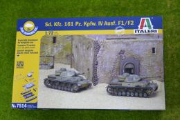 Italeri Sd. Kfz. 161 Pz. Kpfw. IV Ausf. F1/F2 Quick Build 1/72 kit 7514