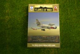 Flames of War DASSAULT OURAGAN Arab-Israeli Wars 15mm AAC01