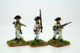 Trent Miniatures SPANISH VOLUNTEERS, SANTO DOMINGO Pack of 6 CAR18