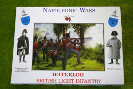 A Call To Arms BRITISH LIGHT INFANTRY Waterloo Napoleonic Wars 1/32 CT9
