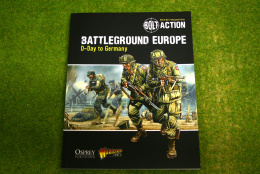 Battleground Europe D-Day to Germany Supplement Bolt Action Warlord Games 28mm