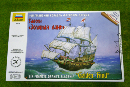 Zvezda GOLDEN HIND Sir Francis Drakes Flagship 1/350 Scale Kit 6509