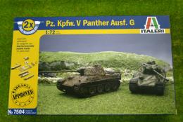 Italeri Pz. Kpfw. V PANTHER Ausf. G Quick Build 1/72 kit 7504