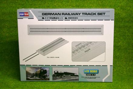 German RAILWAY TRACK SET1/72 Scale Hobby Boss 82902