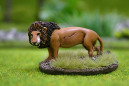 DeeZee Miniatures LION STANDING DZ32 28mm Wargames