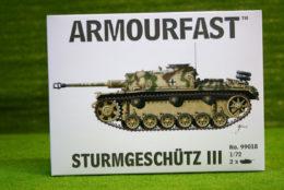 Armourfast STURMGESCHUTZ III  x 2 WWII Tank 1/72  99018