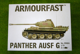 Armourfast PANTHER AUSF G  x 2 WWII Tank 1/72  99024