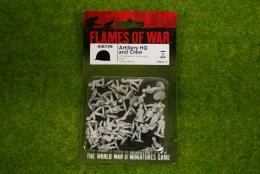 Flames of War Artillery HQ & Crew Arab-Israeli Wars 15mm AIS729