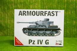 Armourfast PANZER IV AUSF G  x 2 WWII Tank 1/72  99027