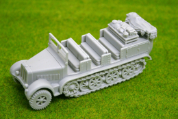 1/56 scale – 28mm WW2 GERMAN SDKFZ 7 MOVER HALFTRACK Blitzkrieg miniatures