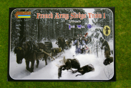 Strelets Napoleonic FRENCH ARMY SLEDGE TRAIN 1 1/72  133