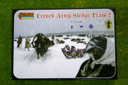 Strelets Napoleonic FRENCH ARMY SLEDGE TRAIN 2 1/72  134