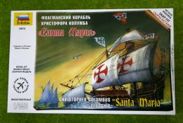 Zvezda SANTA MARIA Christopher Columbus Flagship 1/350 Scale Kit 6510