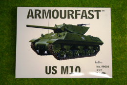 Armourfast M10 Tank Destroyer WWII Tank 1/72 set 99004