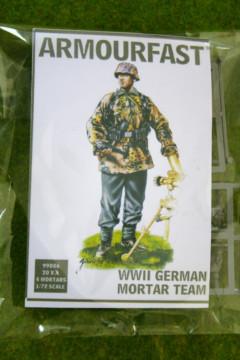 Armourfast WWII GERMAN MORTAR TEAM 1/72  99006