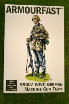 Armourfast WWII GERMAN MACHINE GUN TEAM 1/72  99007