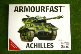 Armourfast Achilles Tank Destroyer x 2 WWII Tank 1/72  99008