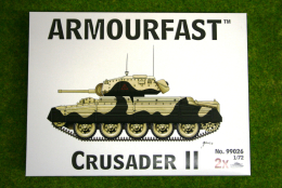 Armourfast CRUSADER II WWII Tank 1/72 99026