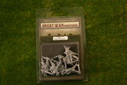 GREAT WAR MINIATURES B.E.F. Highlander Command B12